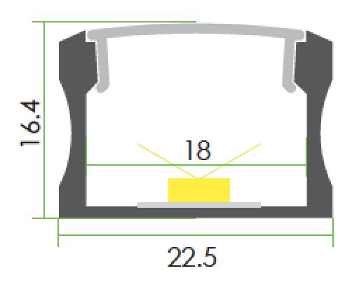 TLP-SM-10060 line drawing
