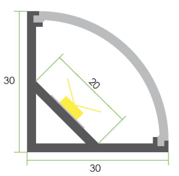 TLP-SM-10130 line drawing