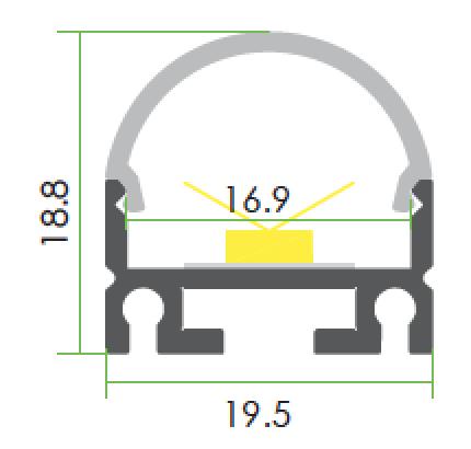 TLP-SM-10160 line drawing