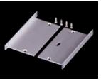 10310 Aluminum Endcap (with/without hole)