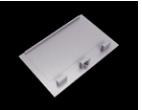 10290 Aluminium Screwless Endcap (without hole)